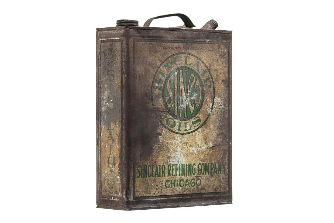Early Sinclair Sinco Motor Oil Can - 3