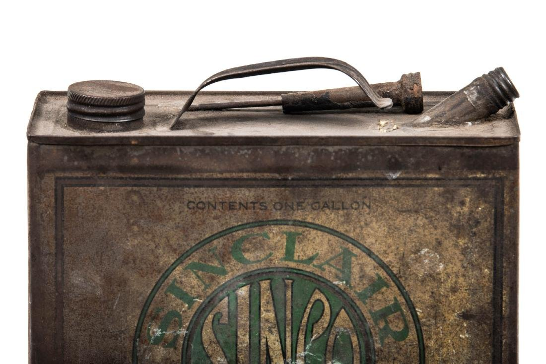 Early Sinclair Sinco Motor Oil Can - 4