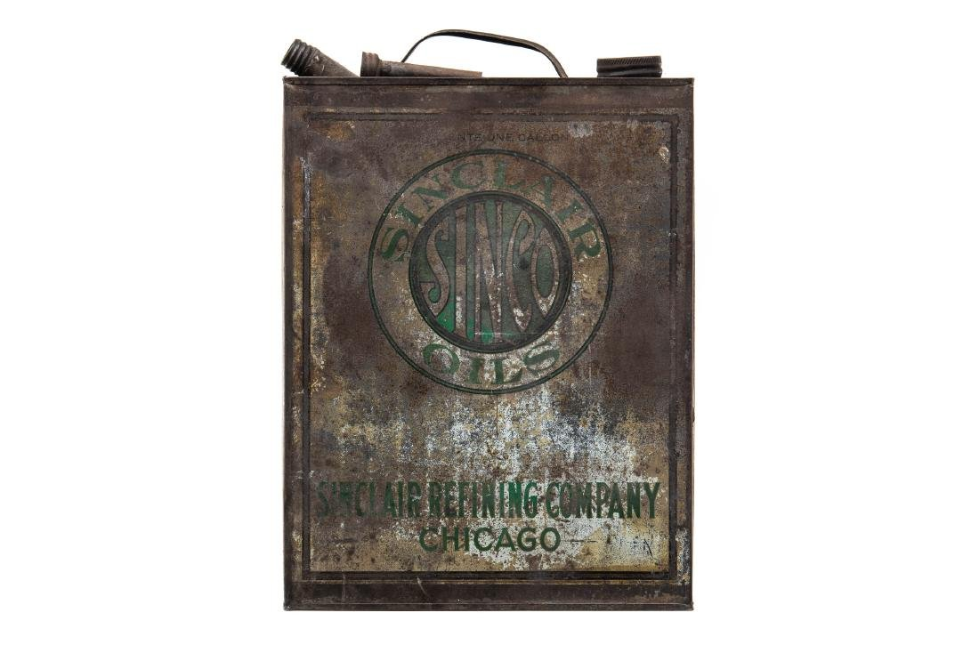 Early Sinclair Sinco Motor Oil Can - 5