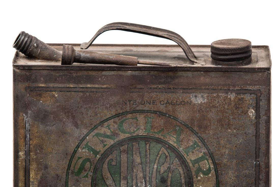 Early Sinclair Sinco Motor Oil Can - 6