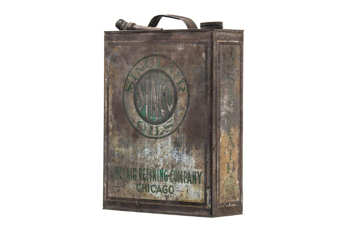 Early Sinclair Sinco Motor Oil Can - 7