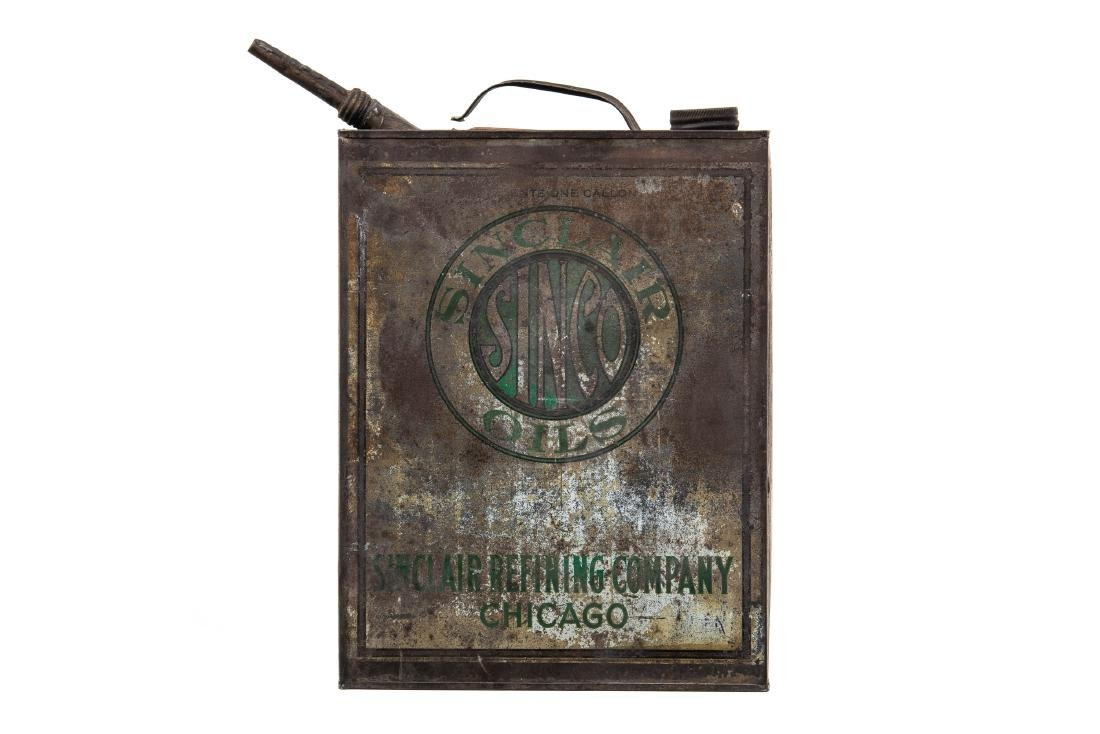 Early Sinclair Sinco Motor Oil Can - 9