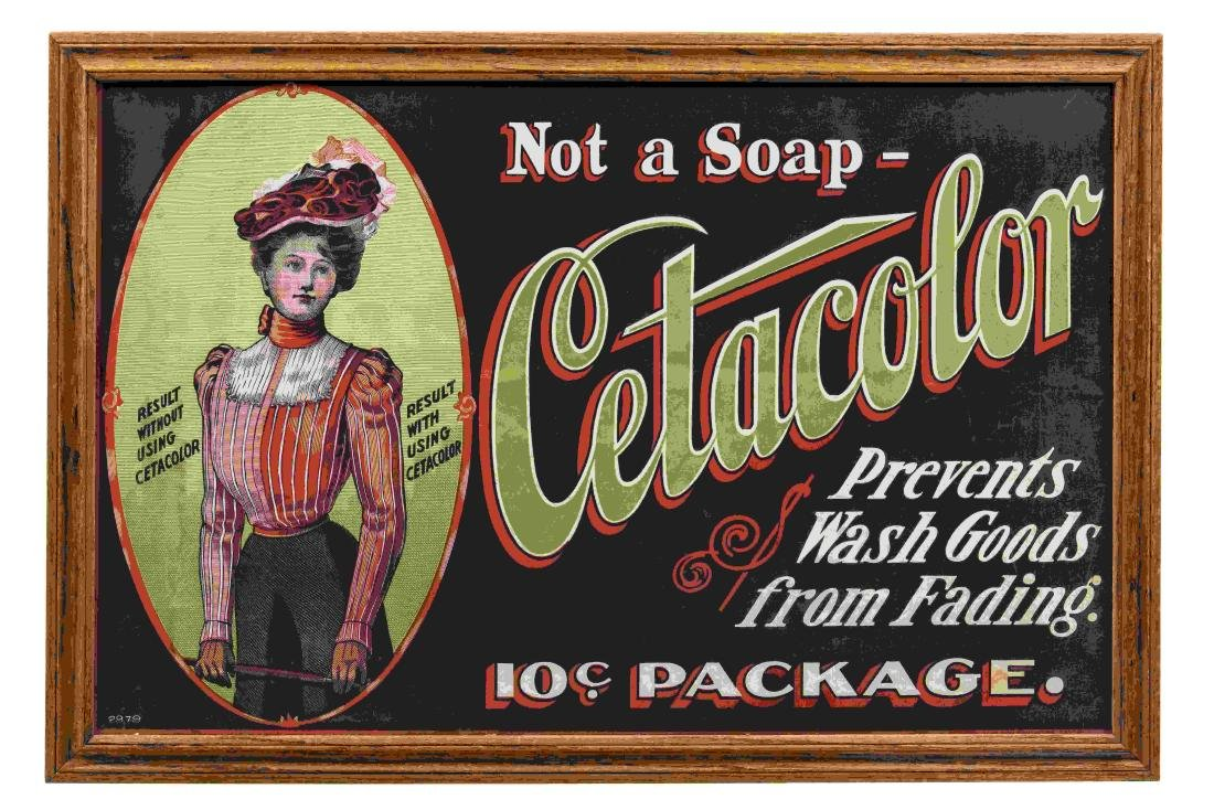 Very Early Cetacolor Framed Canvas Banner