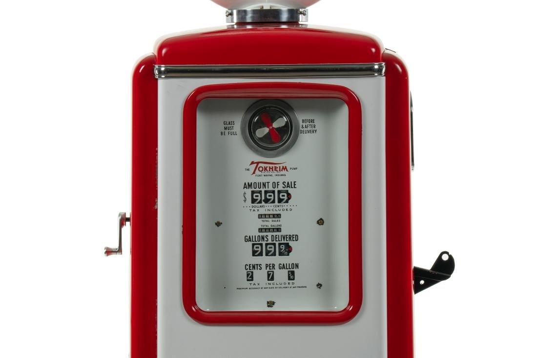 Tokheim 39 Frontier Gas Pump Restored - 3