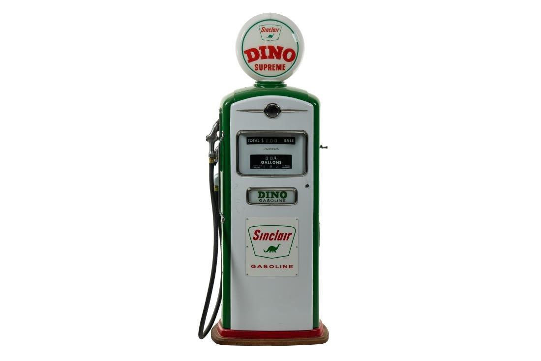 Bennett 966 Sinclar Gas Pump Restored