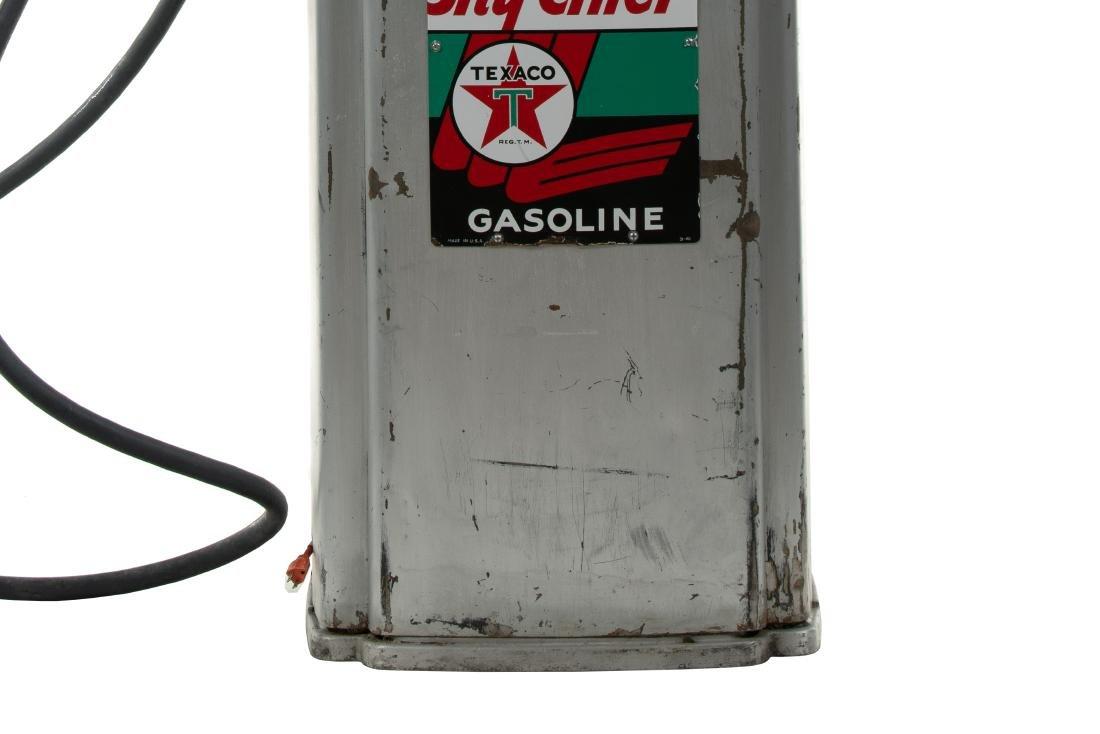 Tokheim 39 Tall Sky Chief Gas Pump Unrestored - 5