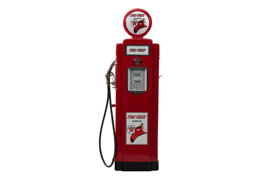 Wayne 70 Texaco Fire Chief Restored Gas Pump