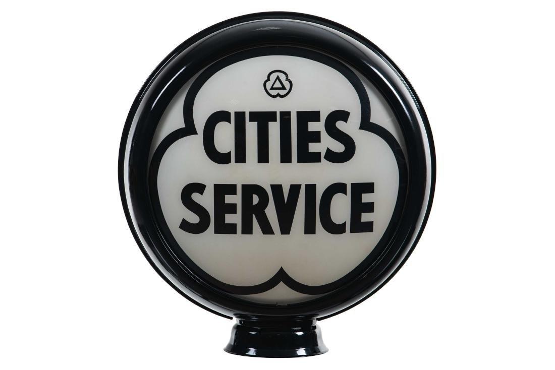 """Cities Service Globe 15"""""""