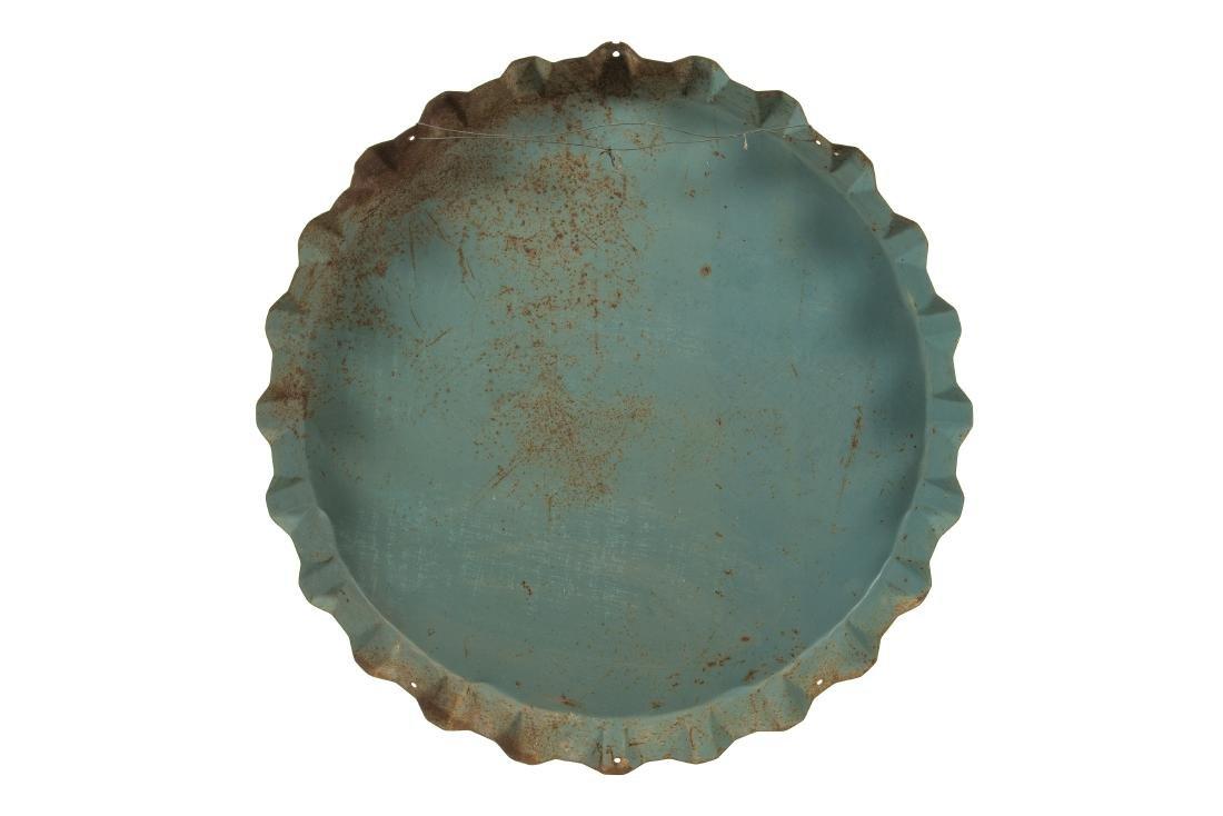 Drink Frostie Root Beer Bottle Cap Tin Sign - 4