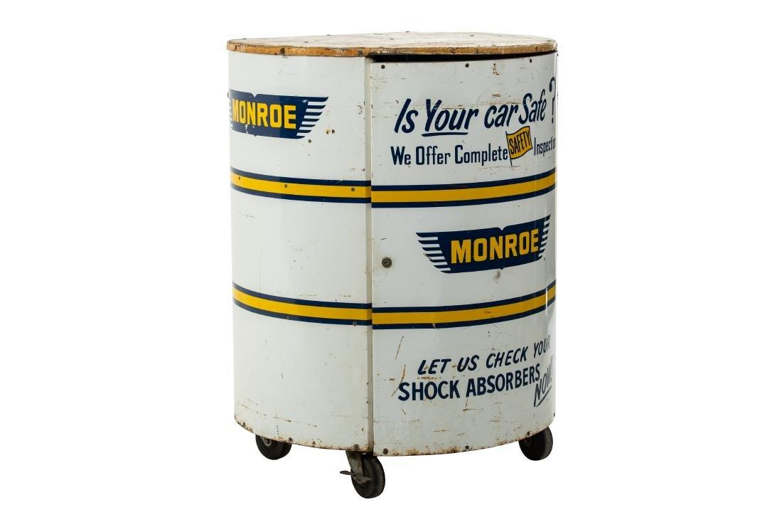 Monroe Shock Absorber Rolling Metal Cabinet