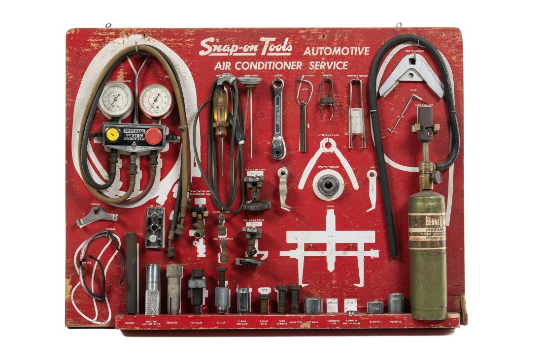 Snap-On Tools Air Conditioning Service Display