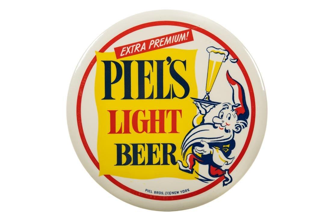 Piel's Light Beer Tin Sign