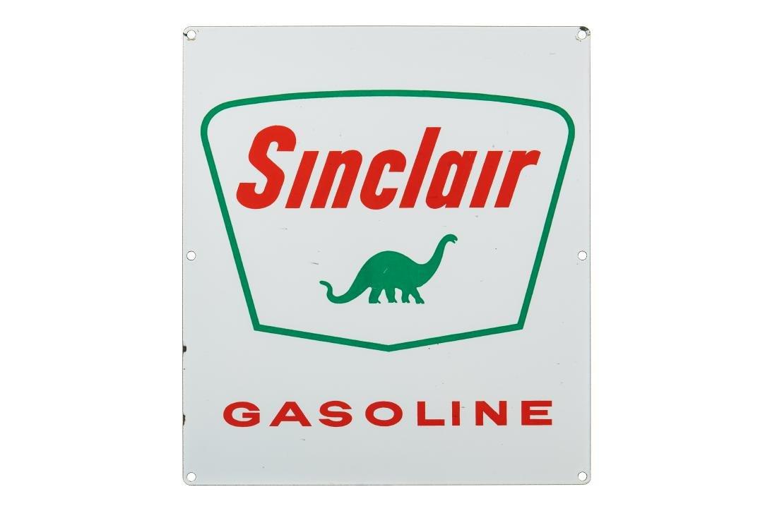 Sinclair Gasoline Gas Pump Porcelain Sign