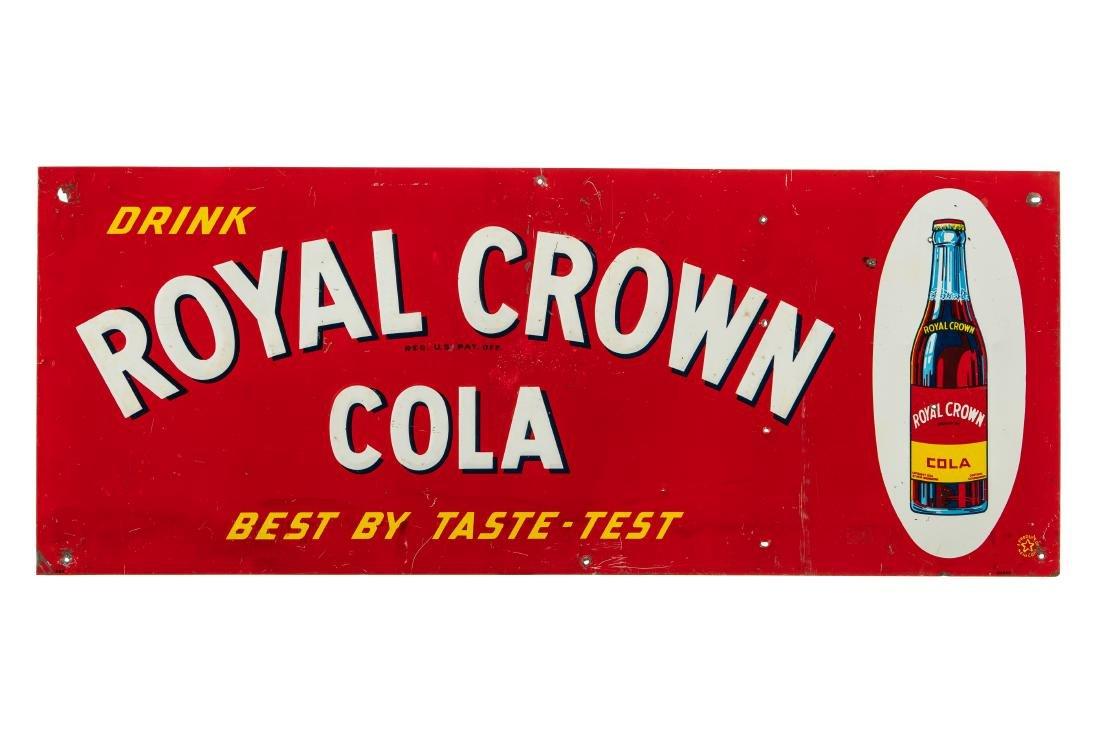 Royal Crown Cola Tin Sign
