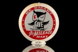 Go Mileage Gasoline Gas Pump Globe