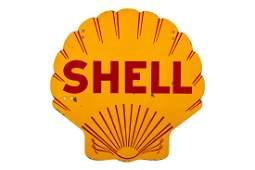 Shell Pecten Porcelain Hanging Sign