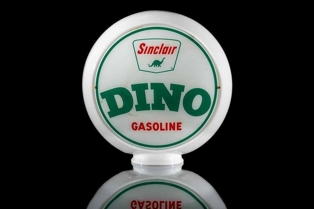 DINOSinclair Gasoline Advertising Glass Marble
