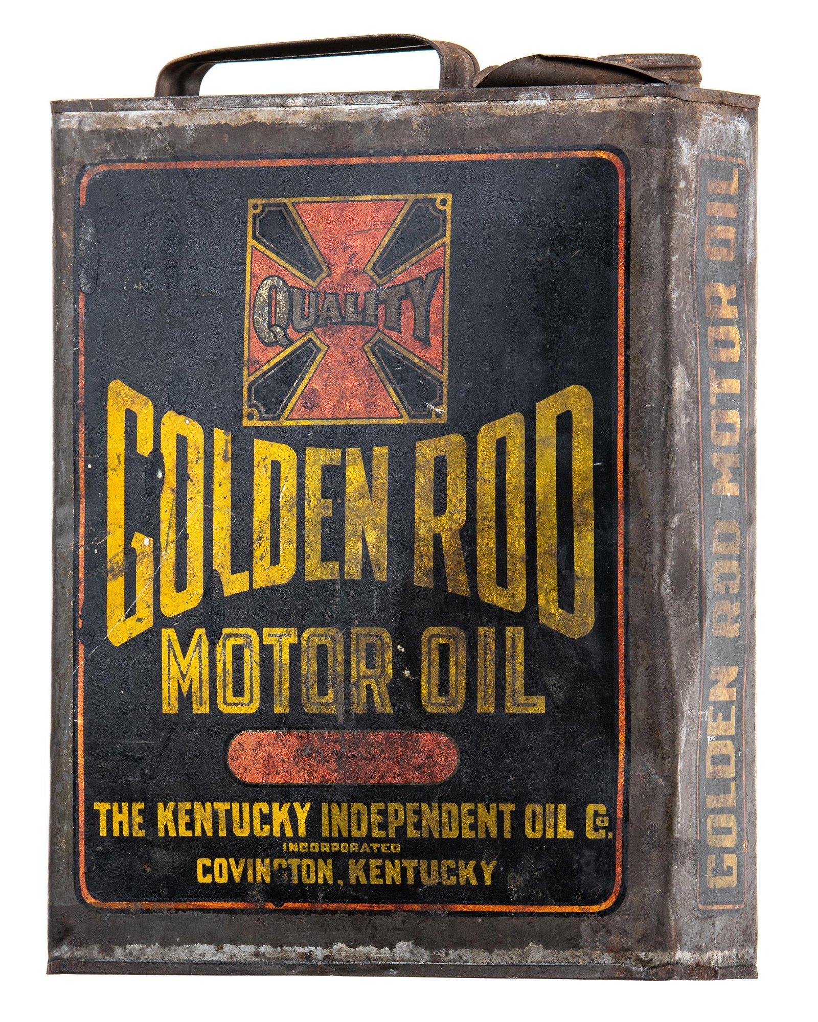 Golden Rod Motor Oil One Gallon