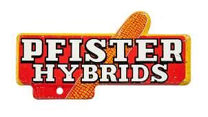 Pfister Hybrids License Plate Topper