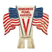 Remember Pearl Harbor License Plate Topper