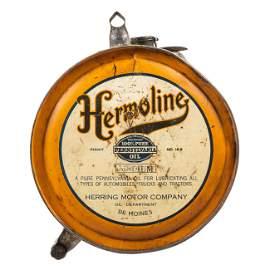 Hermoline Motor Oil Rocker Can