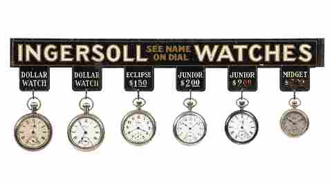 Ingersoll Watches Display Sign