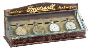 Small Ingersoll Display Case