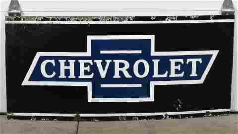 Early Chevrolet Sign