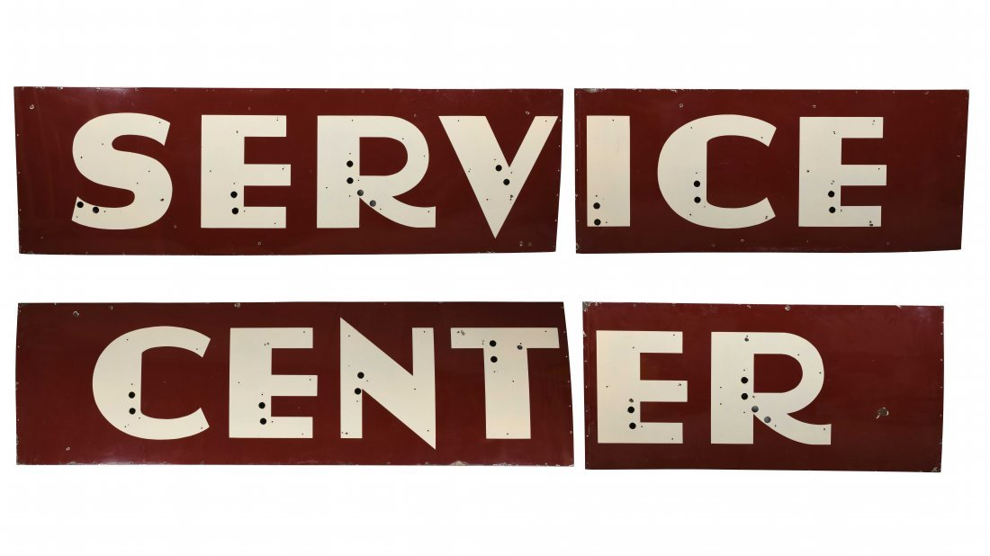 Service Center Sign
