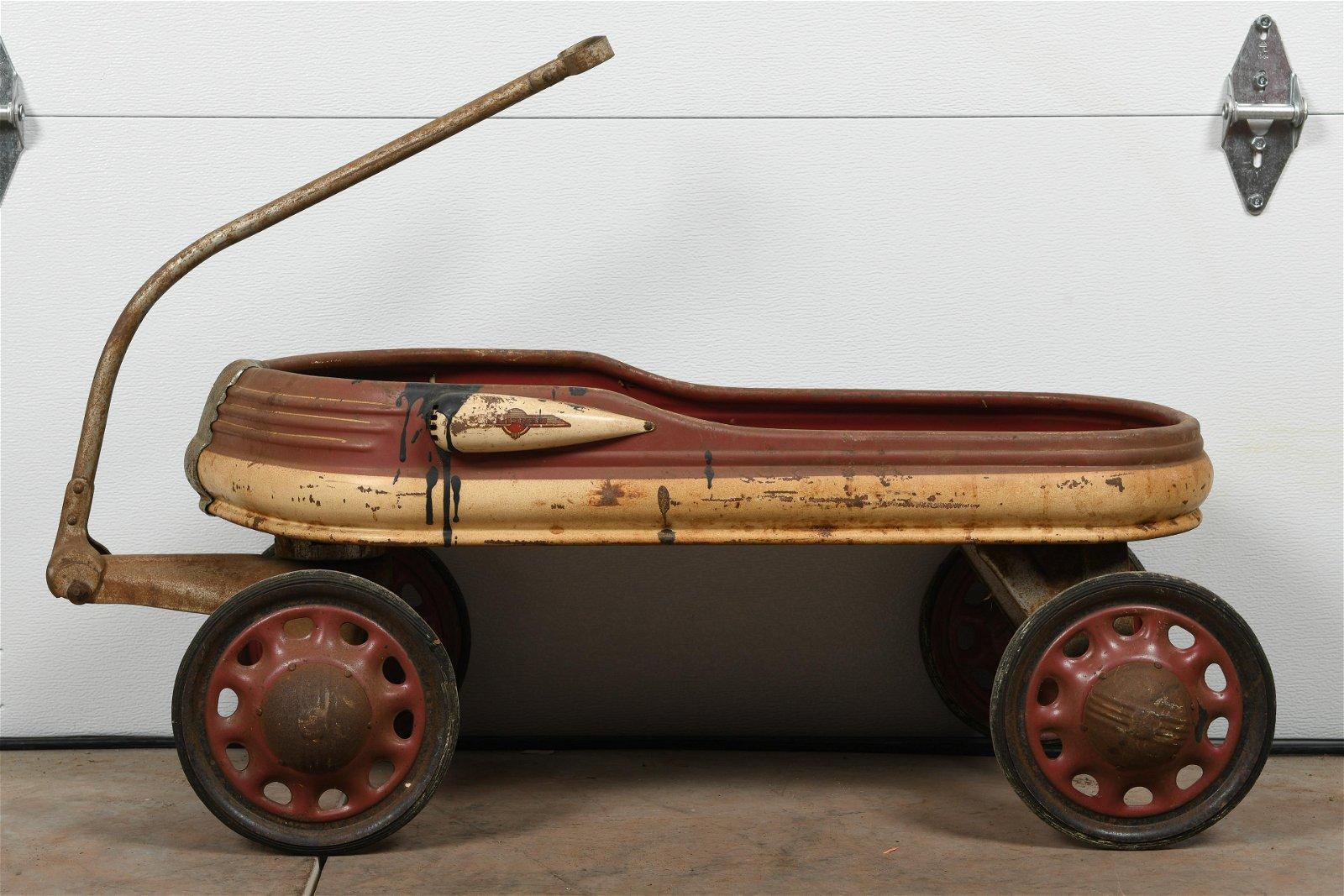 Early Art Deco Wagon