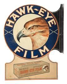 Hawk-Eye Film Flange Sign