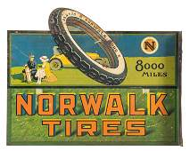 Norwalk Tires Flange Sign