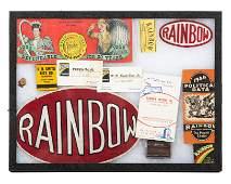 Rainbow Gasoline & Misc. Advertising Pieces