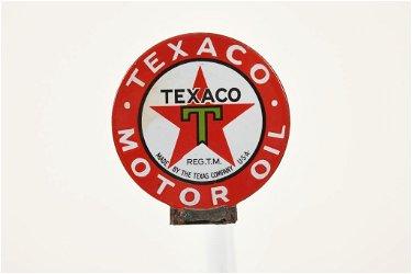 Texaco Motor Oil Paddle Sign
