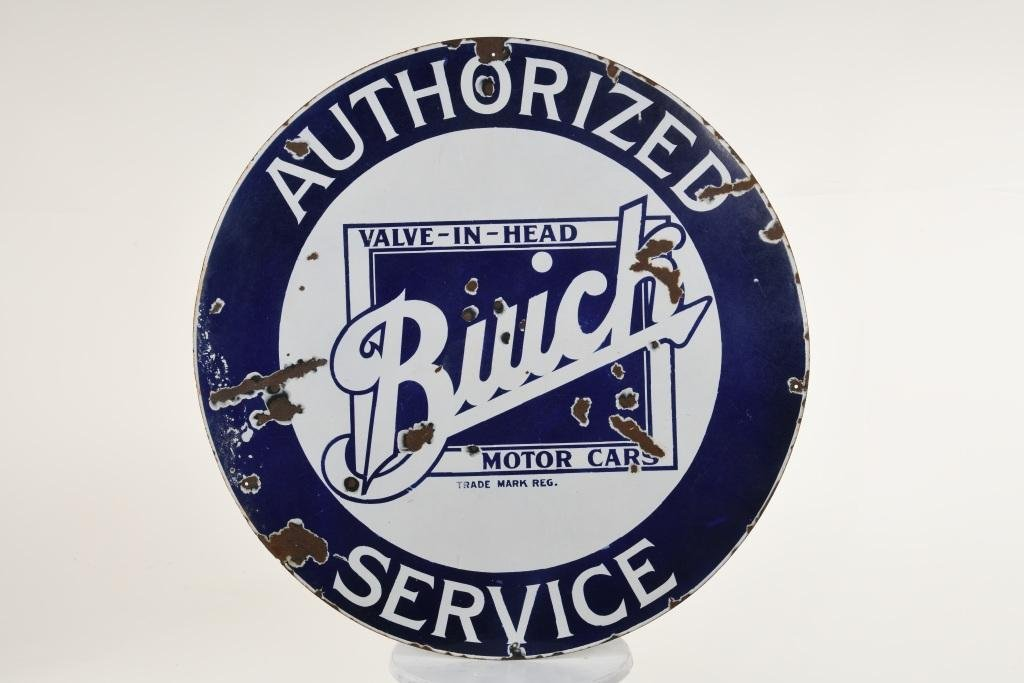 Buick Authorized Service Dealer Sign