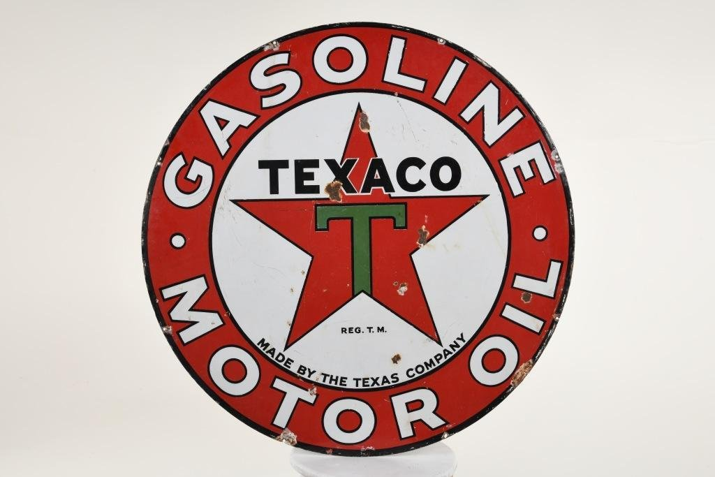 Texaco Gasoline Sign