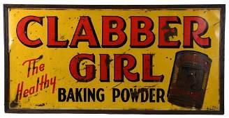 Large Clabber Girl Baking Powder Sign
