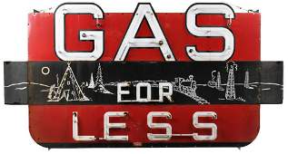 Rare Gas For Less Neon Sign