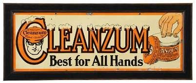 Rare Oilzum Cleanzum Sign