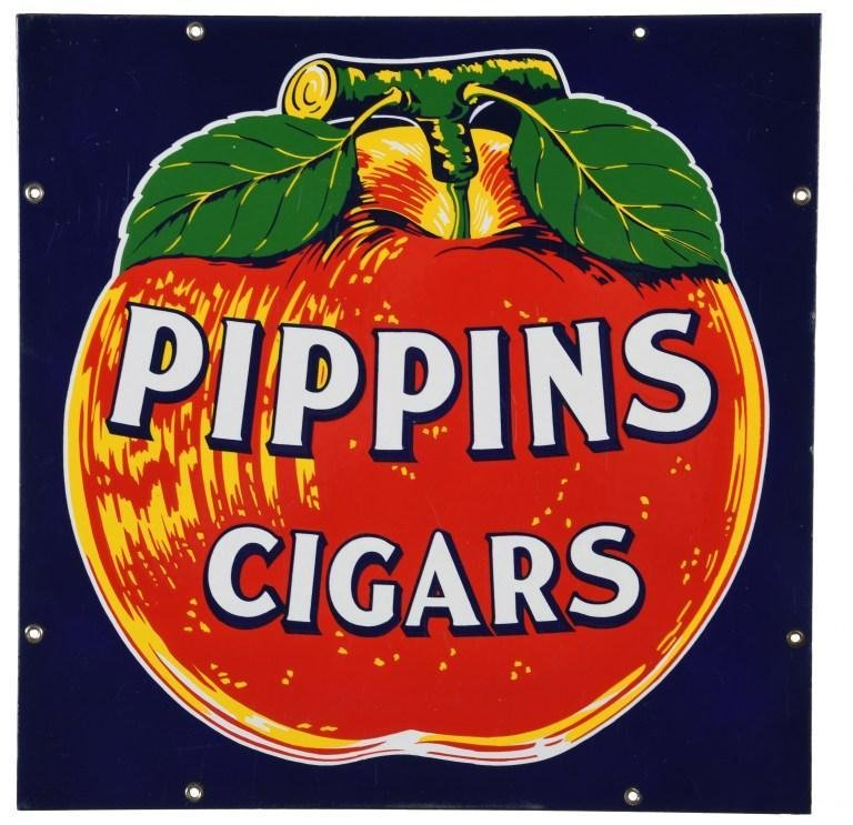 Pippins Cigars Sign