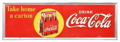 Take Home A Carton Coca Cola Sign