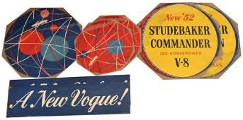 7 1952 STUDEBAKER ADVERTISING PIECES