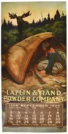 Early Laflin & Rand Powder Company Calendar