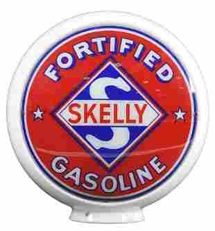 "Skelly Fortified Gasoline 13.5"" Globe Lenses"