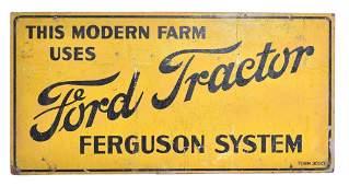 Ford Tractor Ferguson System Masonite Sign