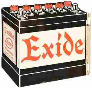 Exide ESB Quality Controlled Metal Sign