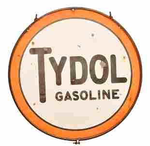 Tydol Gasoline Porcelain Sign