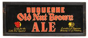 """Duquesne """"Old Nut Brown Ale"""" Light Sign"""