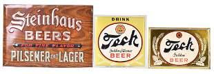 Steinhaus & 2-Tech Beer Metal Sign