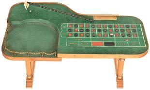 Miniature Roulette Table From Wilbur Clark�s Desert